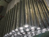 Aluminium blinkendes PET Tiefbaubutylantikorrosion-Rohr-Verpackungs-Band, anhaftendes Leitung-Band einwickelnd, Polyethylenetape