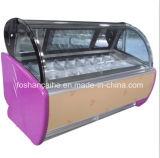 純粋なアイスクリームのフリーザーのショーケースB6-12