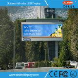 Sinal ao ar livre do diodo emissor de luz do brilho elevado P8 para anunciar
