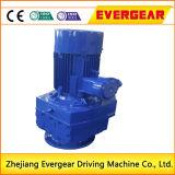 Caja de engranajes helicoidal de la reducción de la caja y del motor de engranajes de la serie de R