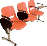 経済的なプラスチック鋼鉄管の待っている椅子(LL-W003)