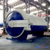 autoclave de cura de borracha industrial horizontal do Vulcanization de 2500X6000mm