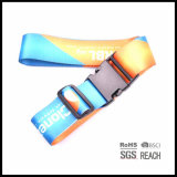 Bagage de sécurité Bracelet Rainbow Stripe Valise réglable Ceintures d'emballage avec verrou de mot de passe