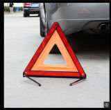 Triángulo amonestador Emergency solar de la señal de tráfico del tráfico
