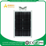 15W indicatore luminoso di via solare del fornitore Ce/RoHS Bridgelux LED