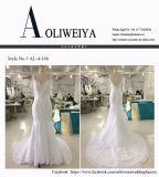 Aoliweiya 2017 vestidos de casamento da sereia do vestido nupcial