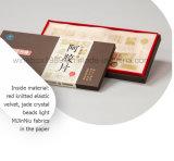 Rectángulo de regalo de papel simple durable del producto alimenticio del cuidado médico del MDF