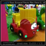 Chilren Palygroundのためのおもちゃのカートンの動物のプラスチック乗車