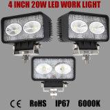 4 Offroad、Truck、Marine、Mining、Ariculatureのインチ20Wのクリー語LED Work Light Used