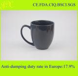 Keramische Steingut-Normallack-Leerzeichen-Kaffeetassen