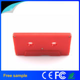 Movimentação plástica do flash do USB de Chiavetta do estilo real da cassete de banda magnética da capacidade 8GB