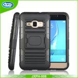 3 dans 1 couverture de téléphone cellulaire pour Samsung J1, J710
