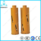 Hard rock Core Drill Bit do diamante para Reinforced Concrete