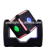 Tomada de fábrica 6X12W RGBW 4 em 1 de luz movente do estágio do feixe do diodo emissor de luz da cabeça da esfera do cubo do diodo emissor de luz