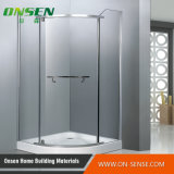 Tela de chuveiro de alumínio de Frameless para o banheiro