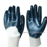 Blue Nitrile Gloves Safety Industrial Work Glove Factory