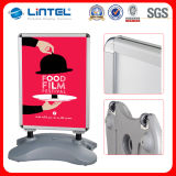 A1 Menu Boards Pavimento Signs Publicidade Poster Frame (LT-10G)