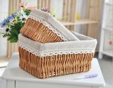 Wicker Handmade Storage Basket con Eco-Friendly (BC-ST1002)