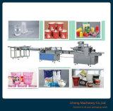 工場価格の自動カウントの紙コップのパッキング機械