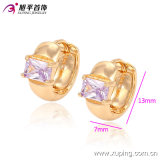 90267 LadyのBest GiftsのためのFashion最近のElegant 18kの金Plated Crystal Jewelry Earring Hoops