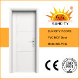 Цена панели двери PVC верхних сбываний белое (SC-P042)