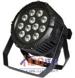 IP65屋外DMX 512の同価は1つの5in1 LEDの同価ライトに付き12*18W RGBWA紫外線6つできる