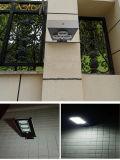 indicatore luminoso di via solare 9W con il sensore di movimento