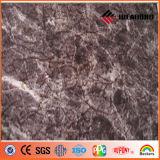 El panel compuesto de aluminio de piedra de la textura ACP de Ideabond