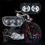 90W 3500lm de Dubbele Zwarte Strook van de Koplamp voor Motorfiets Harley