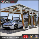 Carport de aluminio solar fotovoltaico modificado para requisitos particulares (GD79)