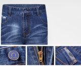 2016 OEM de Promotie garen-Geverfte Korte Jeans van de Lente Vrije tijd voor Mensen