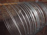 Alto Security Galvanized Razor Wire Using in Border Fence