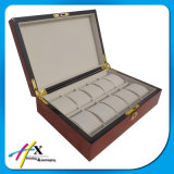 贅沢4-12の割付け担当の編集者の腕時計の表示記憶の木箱Hx521