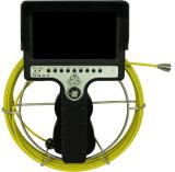 Câmera impermeável da inspeção da tubulação com o localizador do Built-in do contador 512Hz do medidor