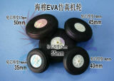 Ultra helles Rad (Plastiknabe) für RC Fläche