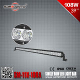 off-Road Vehicles (SM-11X-108A)를 위한 IP68 39 Inch (36PCS*3W) 108W Single Row 크리 말 LED Light Bar