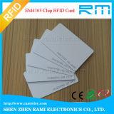 125kHz RFID Chipkarte-Leerzeichen-weiße Karte für Zugriffssteuerung
