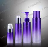 애완 동물 피부 관리 포장을%s 자주색 플라스틱 로션 병 (PPC-PB-040)