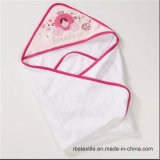 100% il tovagliolo incappucciato del bambino lavorato a maglia cotone Swaddle il tovagliolo con il disegno elegante
