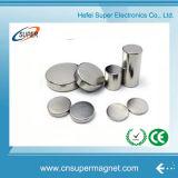 Высокопрочные сильные круги цилиндров дисков диаментрально намагнитили неодимий N35