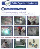 De moderne PE van het Frame van het Aluminium Moderne Reeks van de Bank van de Rotan (S0067)