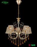 Moderne hängende Kristalllampe/Glasleuchter (D-9302/5)