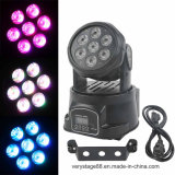Mini7*12w RGBWA LED Moving Head Wash Effect Lights