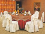 Cubierta de la silla del banquete del poliester y paño de vector