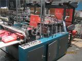 Automatischer doppelte Schicht-flacher Plastikbeutel, der Maschine herstellt