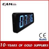 [Ganxin] 실내 작은 스크린 사용법 LED 벽시계 시간 기록계
