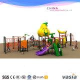 La plastica rampicante di serie della frutta fa scorrere il campo da giuoco esterno della strumentazione di esercitazione dei bambini