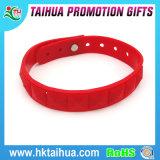 Bracelete feito sob encomenda relativo à promoção da borracha de silicone, Wristband feito sob encomenda do silicone camuflar, braceletes feitos sob encomenda baratos do silicone