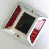 Parafuso prisioneiro solar de piscamento da estrada do olho de gato do diodo emissor de luz da segurança de estrada