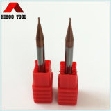 HRC55 Copper Coating 0.3mm Micro End Mills